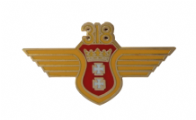 No. 318 (City of Gdańsk) Polish Fighter-Reconnaissance Squadron Royal Air Force RAF Pin Badge